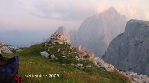 L'Agner dal Bivacco Bedìn nelle Pale di San Lucano (abcdolomiti.com ©)