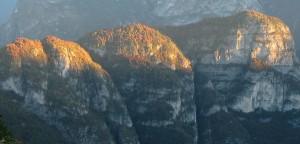 Cocuzzoli nei Monti del Sole, dal Van Grant (abcdolomiti.com ©)