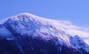 Cappello di nuvole per il monte Dolada (Primo Bridda, 2006)