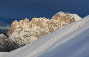 La Schiara dal Monte Serva (foto Paolo Colombera ©)