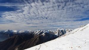 Arrivano le nuvole (foto Paolo Colombera ©)