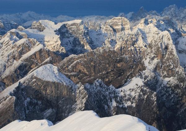 I monti del Sole - foto di Paolo Colombera per la copertina di abcdolomiti