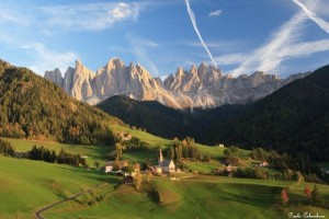 Tramonto sulle Odle in Val di Funes (ph. Paolo Colombera ©)