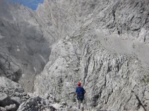 Nel regno roccioso delle Marmarole (foto G. Scrigna ©)