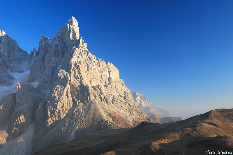 Cimon della pala - Immagini da colorare delle montagne ...