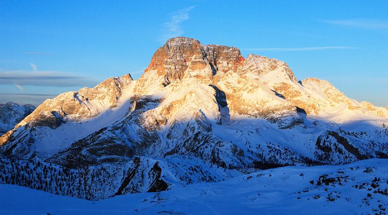 Le piu' belle immagini delle Dolomiti: la Croda Rossa d'Ampezzo