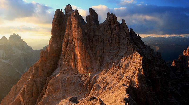 Le piu' belle immagini delle Dolomiti: la Cima Undici, nelle Dolomiti di Sesto