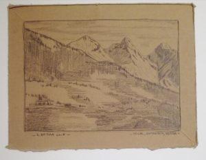 Monti dell'Alpago, disegno