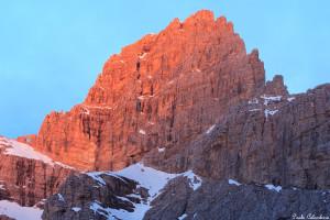 Le piu' belle immagini delle Dolomiti: il Sass de Mura, il re delle Dolomiti Feltrine