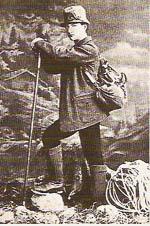 L'alpinista Georg Winkler