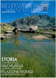 """Rivista del CAI - 2010 : """"In cima alle Isole del Quarnero - 5 itinerari escursionistici"""" articolo di Luca Bridda"""