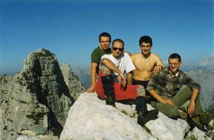Croda Bianca (2082 m) - Monti del Sole: via normale alla cima