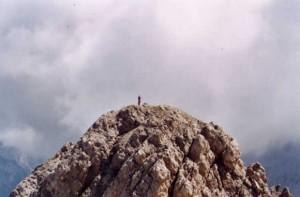 Monte Brentoni (2548 m) - in cima dall'anticima
