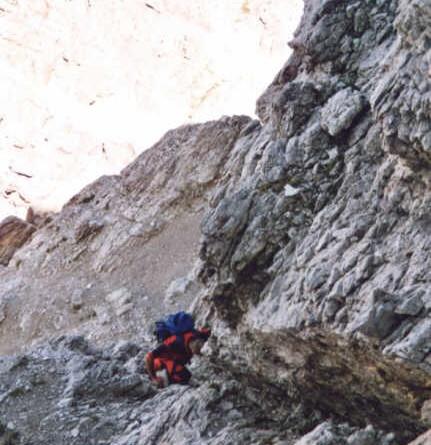 Monte Brentoni (2548 m) - via normale
