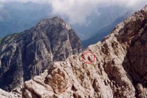 Monte Brentoni (2548 m) - via normale verso la cima più alta