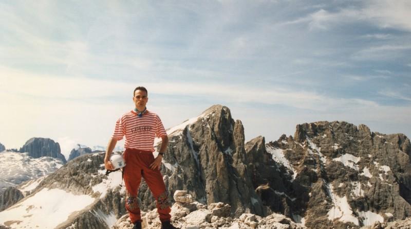 In vetta alla Cima dei Bureloni (3130 m)