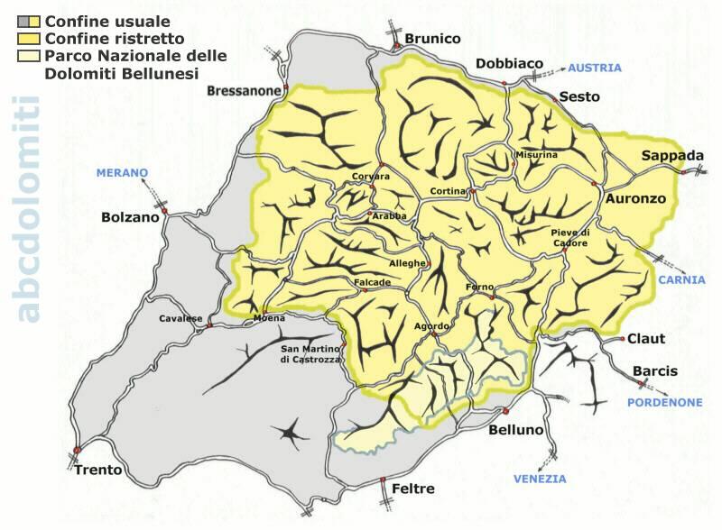 Carta delle Dolomiti, abcdolomiti.com