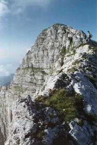 Monte Cavallo (2251 m) e Cimon di Palantina (2190 m) - via normale di salita