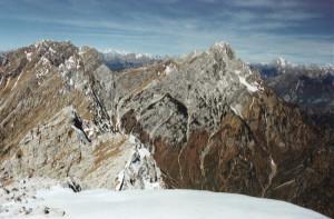 Crep Nudo (2207 m) - dalla cima verso nord
