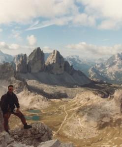 Crodon di San Candido (2891 m) - in cima verso le Tre Cime di Lavaredo