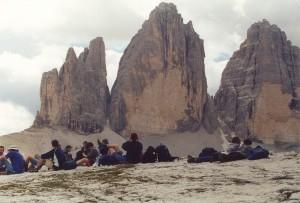 Rifugio Locatelli, le Tre Cime di Lavaredo. Escursioni nelle Dolomiti.