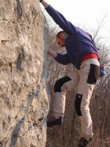 Zona Boulder della Parete dei Falchi / Passerella
