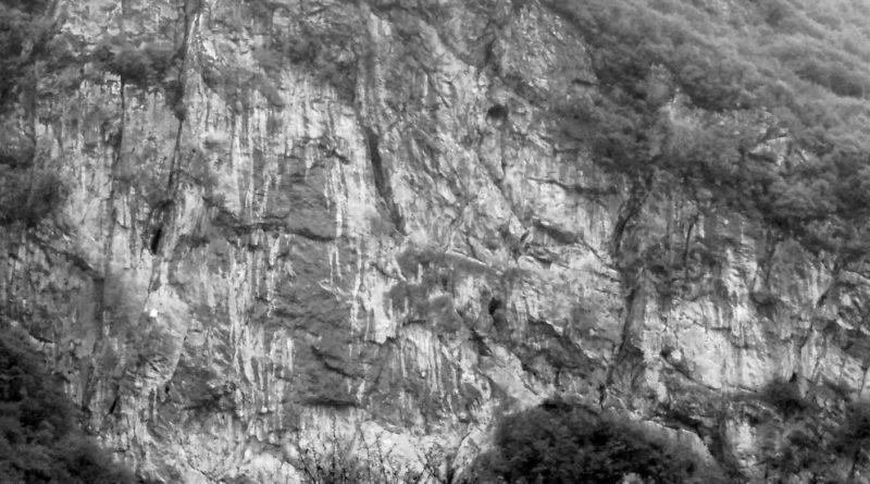 La falesia multipitch della Parete dei Falchi di Belluno