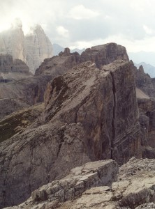 Croda Fiscalina Est (2677 m) - cima