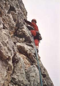 Guglia De Amicis (2100 m) - lungo la Via Dulfer