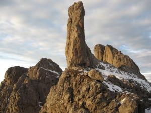 Gusela del Vescovà (2361 m) dal Bivacco della Bernardina