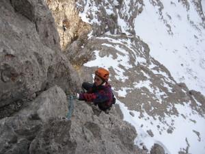 Gusela del Vescovà (2361 m) – Via Jori-Andreoletti-Pasquali