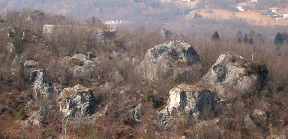 La zona boulder delle Masiere del Mas