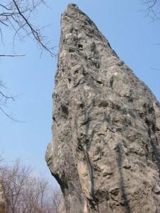 palestra di roccia del Mas - le Masiere