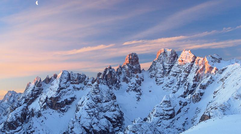 Le piu' belle immagini delle Dolomiti: il monte Cristallo