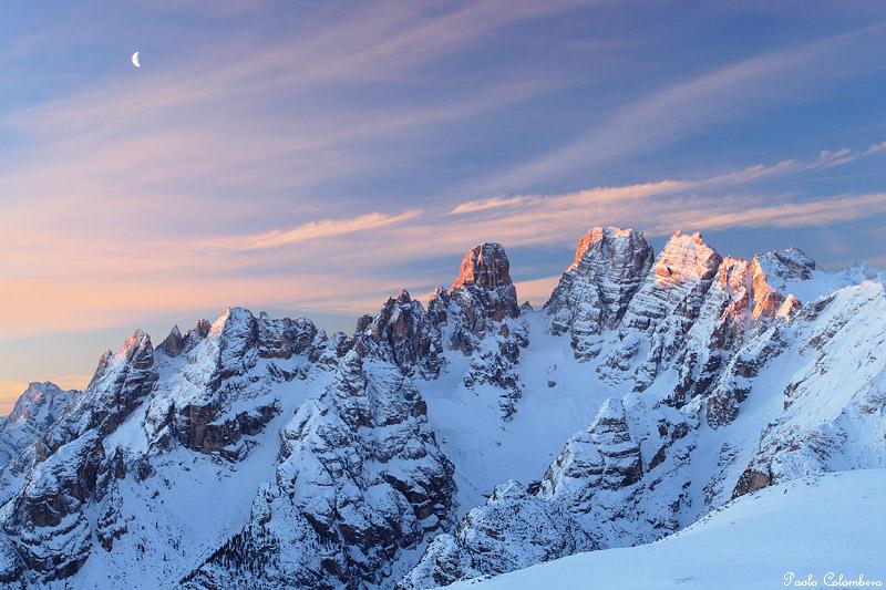 Le piu belle immagini delle dolomiti il monte cristallo - Immagini da colorare delle montagne ...