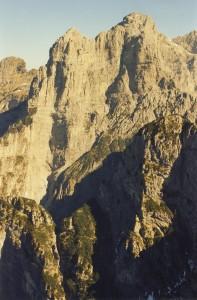 Il Burel dalla cima della Pala Alta