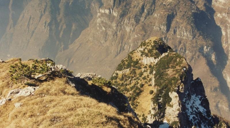 Pala Alta (1933 m) - via normale: panorama dalla cima