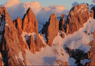 Le piu' belle immagini delle Dolomiti: Passo delle Farangole e Focobon