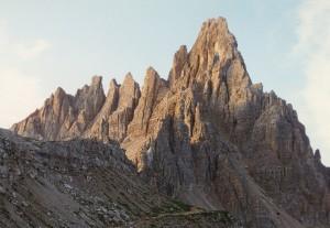 Il Monte Paterno dal Rifugio Locatelli