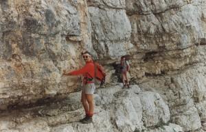 Monte Pelmo: cengia di Ball