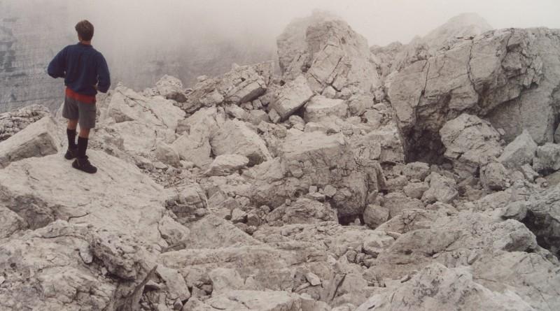 Monte Pramper, via normale alla cima