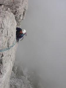 Pupo di Lozzo (2371 m) – lungo la Via comune Olivo