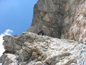 Pupo di Lozzo (2371 m) – lungo la via dei ragni