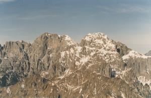 Schiara e Pelf dal Monte Serva