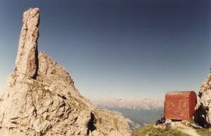 Bivacco Della Bernardina e Gusela del Vescovà