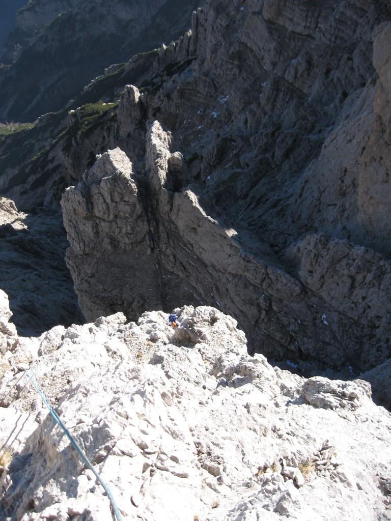 Seconda Pala del Balcon (2371 m) - Via Cusinato-Rossi