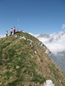 Monte Serva (2133 m) - in cima
