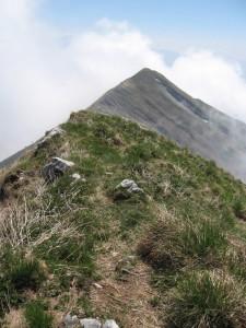Monte Serva (2133 m) - panorama della cresta