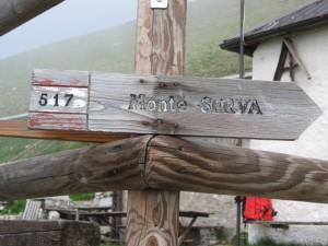 Monte Serva (2133 m) - indicazioni