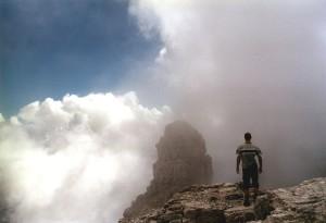 Sfornioi Nord (2410 m) - in cima